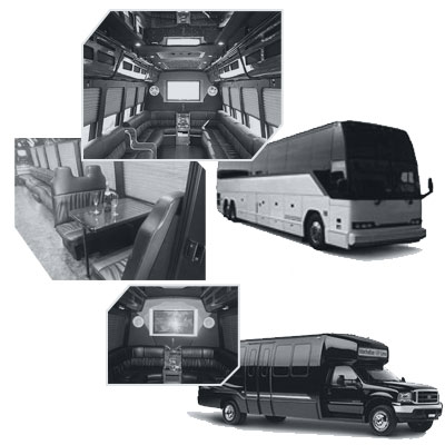 Party Bus rental and Limobus rental in Jacksonville, FL