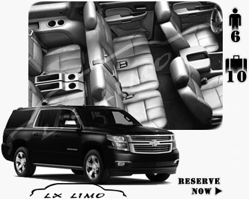 SUV Suburban for hire in Jacksonville