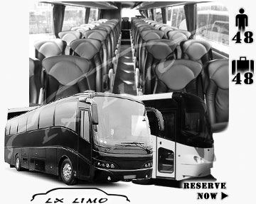 Jacksonville coach Bus for rental | Jacksonville coachbus for hire