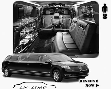 Stretch Wedding Limo for hire in Jacksonville, ON, Canada