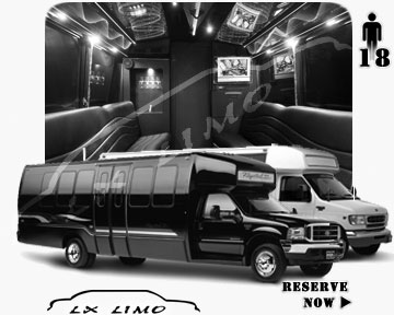 Jacksonville Party Bus party Bus | 18 passenger PartyBus in Jacksonville
